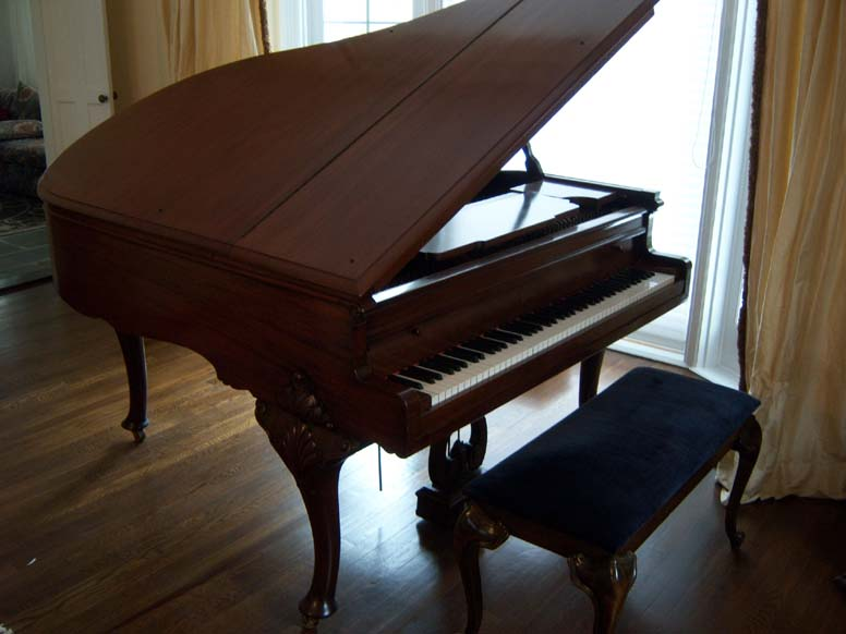 mary pickford's piano